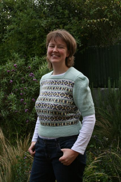 Fair Isle Twinset Jumper1