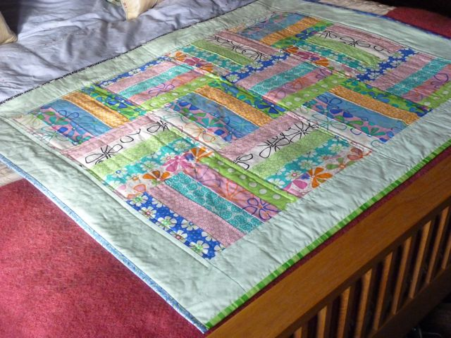 Jelly roll quilt Moda8