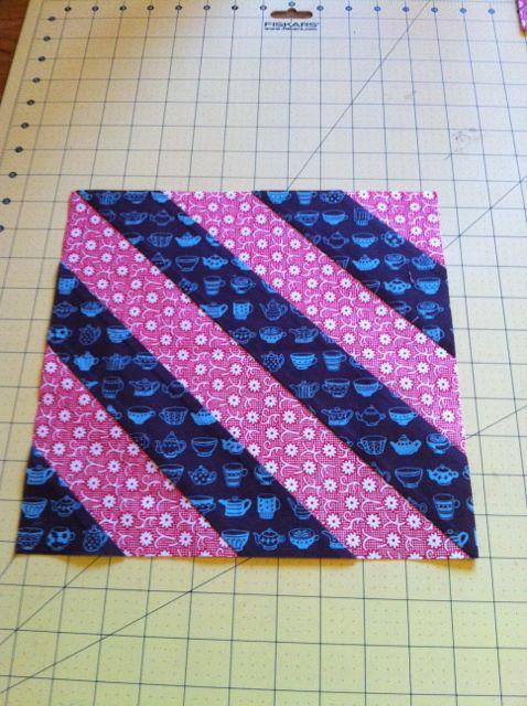 Diagonals block 122