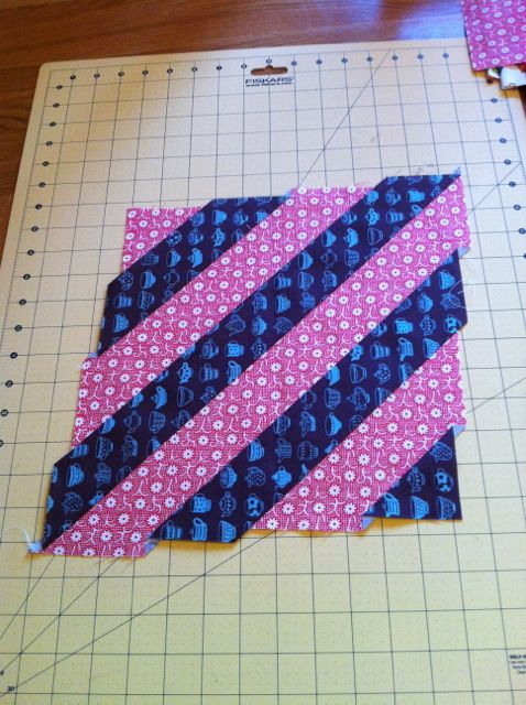 Diagonals block 121