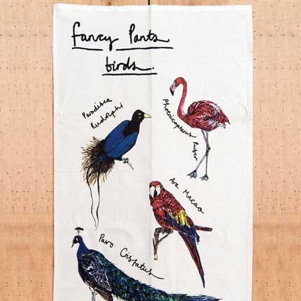 Alice Shields Fancy Pants birds